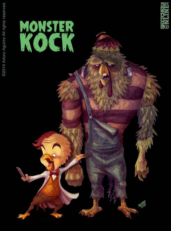 kock-fighter-club-illustrations-arturo-aguirre (7)