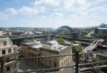 Photo of La ville de Newcastle upon Tyne en time lapse