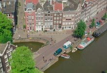 Photo of Amsterdam vue depuis son carillon Westerkerk en miniature
