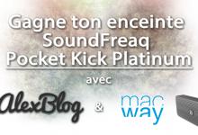 Photo of Découverte de l'enceinte SoundFreaq Pocket Kick Platinum