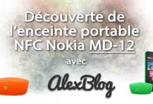 Photo of Découverte de l'enceinte portable NFC Nokia MD-12