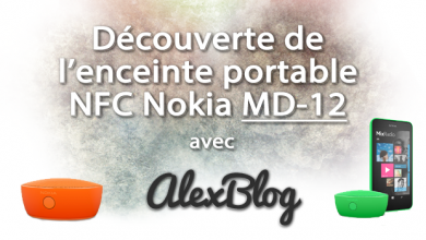 Photo of Découverte de l'enceinte portable NFC Nokia MD-12