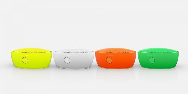 Découverte de l'enceinte portable NFC Nokia MD-12
