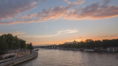 Photo of J'adore Paris – time lapse