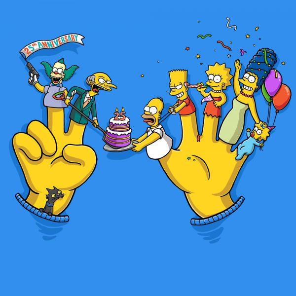 the-Simpsons-25th-Anniversary
