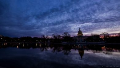 Photo of The district – time lapse sur Washington DC