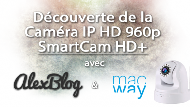 Photo of Découverte de la nouvelle Novodio SmartCam HD+ 960p