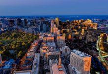 Photo of Time lapse original sur Boston qui combine la journée et la nuit