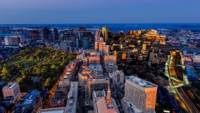 Photo of Time lapse original sur Boston qui combine la journée et la nuit