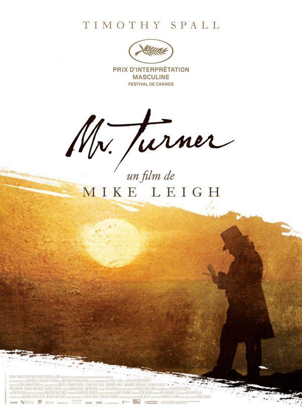 """Affiche """"Mr. Turner"""""""