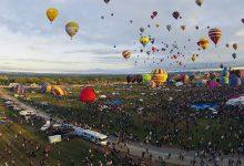 Photo of Albuquerque International Balloon Fiesta en time lapse
