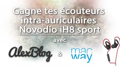 Photo of Découverte des écouteurs Novodio iH8 sport