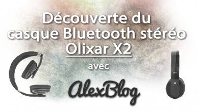 Photo of Découverte du casque Bluetooth stéréo Olixar X2