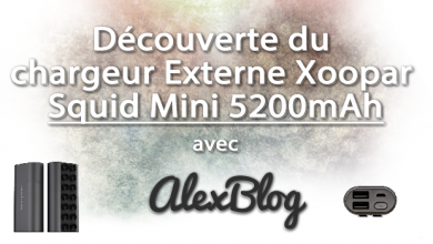 Photo of Découverte du chargeur Externe Xoopar Squid Mini 5200mAh