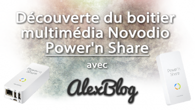 Photo of Découverte du boitier multimédia Novodio Power'n Share