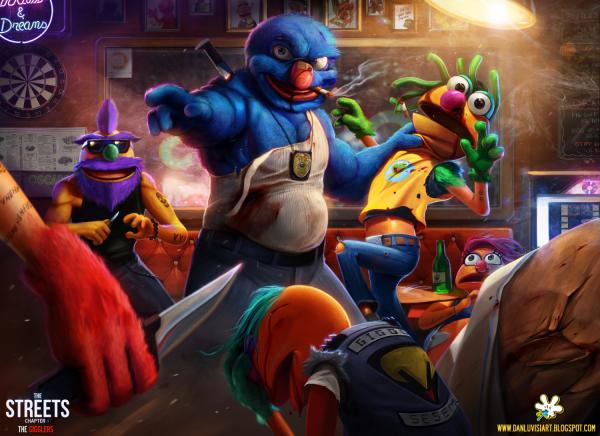 illustrations-muppet-show-danluvisiart (1)