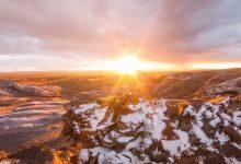 Photo of Le Désert rouge du Wyoming dans un magnifique time lapse