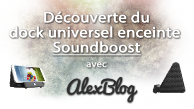 Photo of Découverte du dock universel enceinte Soundboost