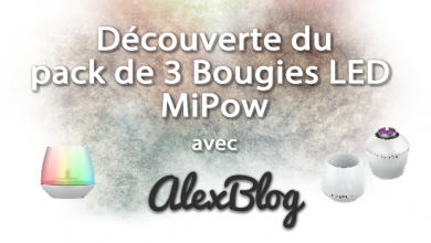 Photo of Découverte du pack de 3 Bougies LED MiPow