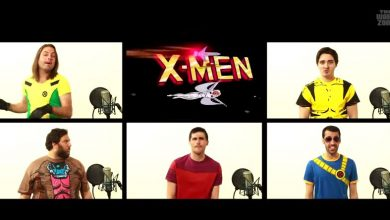 Photo of La musique d'X-MEN a capella