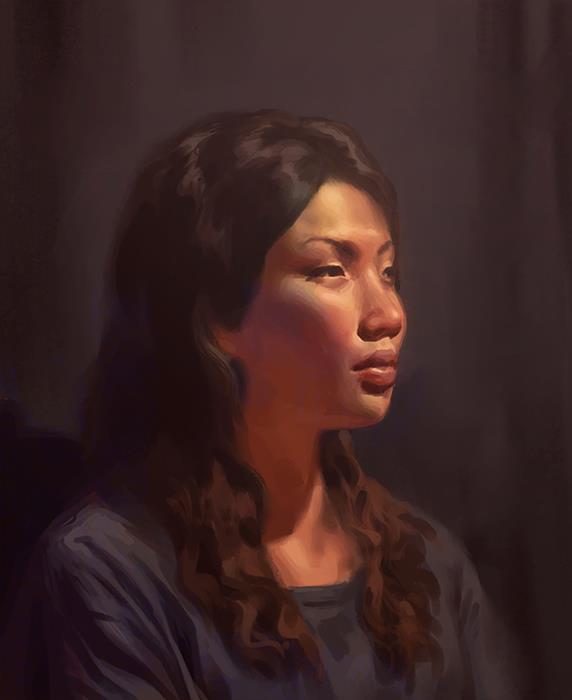 McLean Kendree- peinture