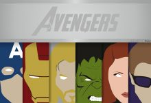 Photo of Les affiches minimalistes des Marvel par Alejandro Rojas