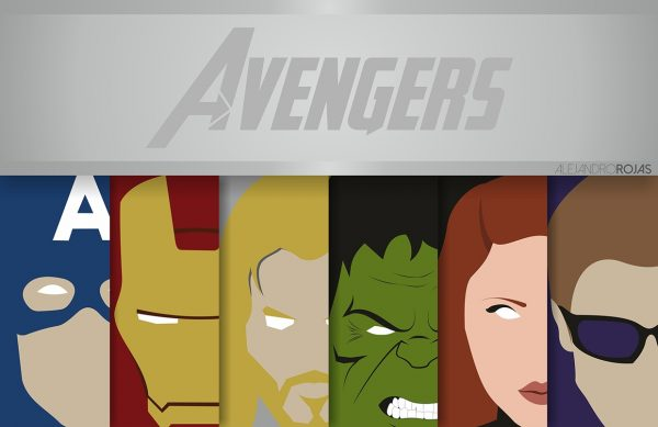 affiches-minimalistes-marvel-alejandro-rojas-avengers (1)
