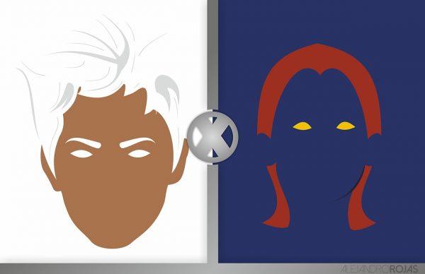 affiches-minimalistes-marvel-alejandro-rojas-x-men (2)