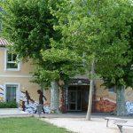 Fresque centre de loisirs jeunesse