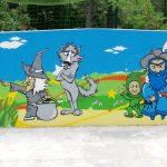 fresque école élémentaire
