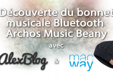 Photo of Découverte du bonnet musical Bluetooth Archos Music Beany