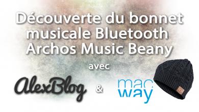 Photo of Découverte du bonnet musical Bluetooth Archos Music Beany