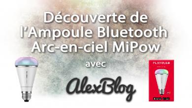 Photo of Découverte de l'Ampoule Bluetooth Arc-en-ciel MiPow