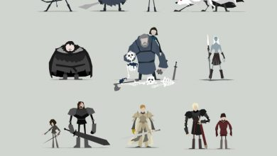 Photo of Les illustrations minimalistes de Game of Thrones par Jerry Liu