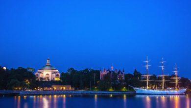 Photo of La ville de Stockholm en time lapse