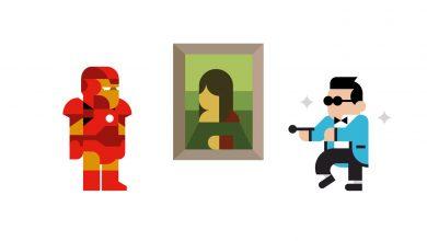 Photo of Les icônes de la culture populaire dans des affiches minimalistes