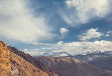 Photo of Les montagnes de l'Altaï en time lapse