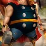 Spiderman-Avengers-fat-heroes-funny-carlos-dattoli (5)