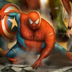 Spiderman-Avengers-fat-heroes-funny-carlos-dattoli (6)