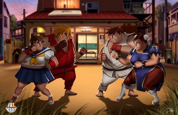 Street-Fighter-fat-heroes-funny-carlos-dattoli (1)