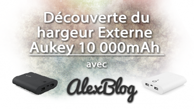 Photo of Découverte du chargeur externe Aukey 10 000mAh