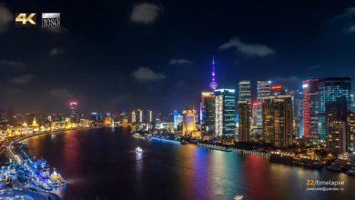 Photo of La ville de Shanghai dans un time lapse qui envoie du lourd