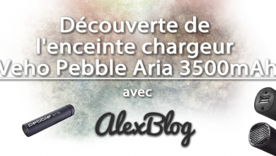 Photo of Découverte de l'enceinte chargeur Veho Pebble Aria 3500mAh