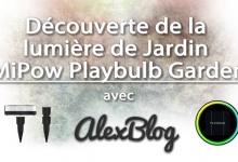 Photo of Découverte de la lumière de Jardin MiPow Playbulb Garden