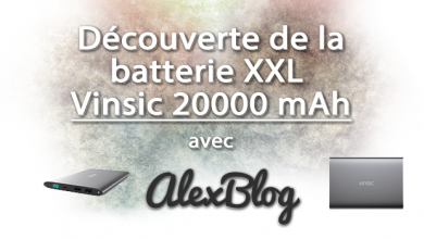 Photo of Découverte de la batterie XXL Vinsic 20000 mAh