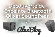 Photo of Découverte de l'Enceinte Bluetooth Olixar SoundPear