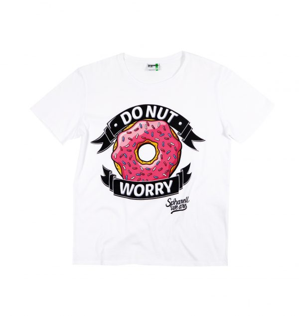 T-shirt Do Nut Worry par SPHARELL WE ARE