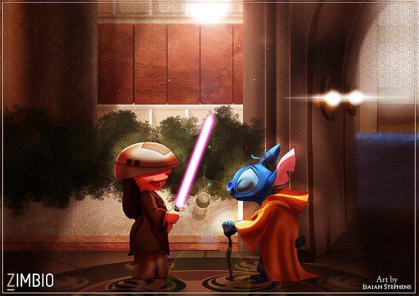 Isaiah Stephens Lilo Stitch Youngling Yoda