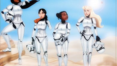 Photo of Les princesses Disney à la sauce Star Wars par Isaiah Stephens