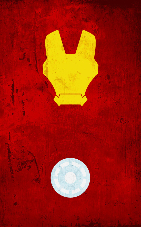 Affiches Minimalistes Super Hero Thelincdesign (1)